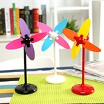 Sweet Girl Style Cute & Romantic Windmill, USB/Battery Motivated, Small Fan