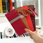 Sweet Girl Style Concise & Fashionable, Long & Multilayerred PU Card Bag