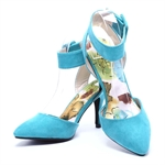 Veni Masee® New Style High Heel Pointed Contrast Court Smart Party Work Shoes