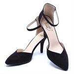 Veni Masee® Womens Ladies Mixed Color High Heel Pointed Contrast Court Smart Party Work Shoes