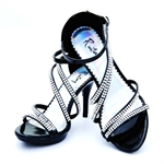 Veni Masee® Summer Ladies Womens Manmade Crystal Party Prom Bridal Evening Fashion High Heels Sandals