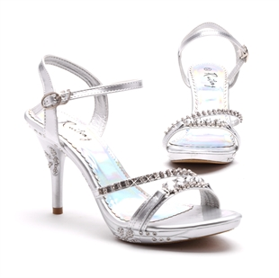 Veni Masee® Summer Ladies Womens Crystal Party Prom Bridal Evening Fashion High Heels Sandals