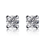 VENI MASEE® Bling Jewelry, Fashion And Sophisticated, Stud Earrings, 925 Sterling Silver, Gift Ideas