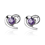 VENI MASEE® Bling Jewelry, Fashion And Sophisticated, Rhinestone For Girls, Stud earrings, Gift Ideas