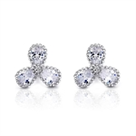 VENI MASEE® Bling Jewelry, Fashion And Sophisticated, Stud Earrings, Rhinestone Earrings, Gift Ideas