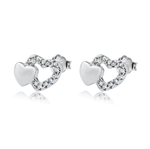 VENI MASEE® Bling Jewelry, Fashion And Sophisticated, Stud Earrings, Heart Earrings For Girls, Gift Ideas