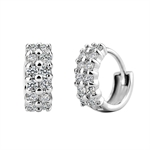VENI MASEE® Polish Finishing Rhinestone- Cut, Fashion And Sophisticated, Hoop Earrings, Gift Ideas