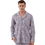 VENI MASEE® Men's Comfort Sleepwear Long Sleeve Pajama Set with Pj Pants