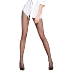 VENI MASEE Silk Reflections Women's 20D Shimmer Fishnet Pantyhose with Control Top