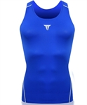 SUPER FEATURING Men's Pro Vent Tight Vest- Royalblue