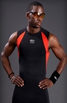 SUPRE FEATURING Superior Performance Sleeveless Tight- Black