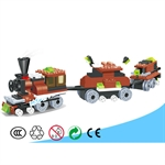 LIGAO Trains Building Set, 169 pcs Inside