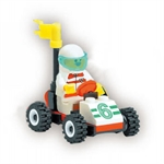 LIGAO Bricks Sport Car, 26 pcs Inside
