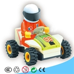 Bricks Super Racing Car, 22 pcs Inside
