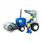 Bricks Super Road Roller, 91 pcs Inside