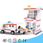 Medical/Hospital Series Plastic Blocks, 228 pcs Inside
