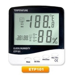 Wireless Indoor/ Outdoor Thermometer and Hygrometer with Atomic Clock, Digital Thermometer and Hygrometer