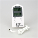 Indoor / Outdoor Portable Digital Thermometer and Hygrometer, Temperature and Humidity Sensor