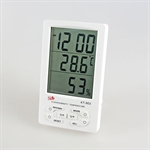 Large LED Display Digital Hygro- Thermometer With Min/ Max And Clock