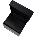 TODAYBEST®10CM Luxury Mens Business Matching Black Tie Handkerchief & Cuff Link Boxed Gift Set Set TO84