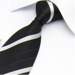 Lrzyou® Men's Color Stripe Tie, Gift Idea, Gift Box Included