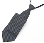 Lrzyou® Men's Black Dots Convenience Tie, Gift Idea, Gift Box Included