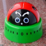 Hoter® 60-Minutes Cute Red Beatles Kitchen Timer, Mechanical Timer, Price/Piece, FOUR FOR ONE FREE