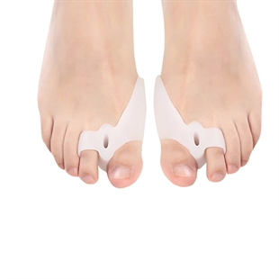 VENI MASEE® One pair Silicone Soft Gel Bunion Toe Seperator & Redress Crooked Toes