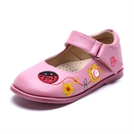 VENI MASEE® Fashion Princess Cute Embroidered Leather Inside Girls Mary Jane