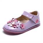 VENI MASEE® Fashion Princess Cute Flower Decoration Leather Inside Girls Mary Jane