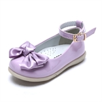 VENI MASEE® Fashion Princess Cute Candy Color Bowknot Leather Inside Girls Mary Jane