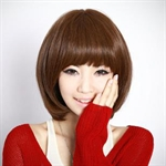 Miss Beauty Sexy BOBO Short Wig, Trendy Soft Face Framing Fringe, With Hair Cap, New Year Gift Idea, Price/Piece