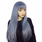 VENI MASEE® High Quality Fashion Romantic Beautiful Women's Long Straight Wig Hair