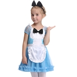 VENI MASEE Girl Cosplay Fancy Dress Halloween Costume Set,S-XL