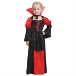VENI MASEE Girl Vampire Cosplay Fancy Dress Halloween Costume Set(Black)S-XL