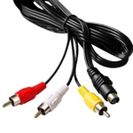 7 Pin S-video Male to 3 RCA Male Cable 5 FT