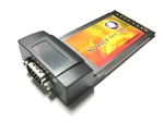 PCMCIA To RS-232 RS232 Serial DB9 CardBus Adapter Card