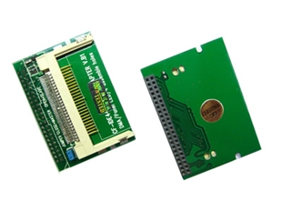 Right-angle Laptop 44-Pin Female IDE To CF Card Adapter