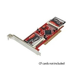 PCI to 4 Compact Flash Cards Raid Adapter