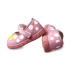 H:oter Cute Baby Girls Toddler First Walking Shoes, Squeaky Prewalker Shoes