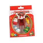 VENI MASEE® Lovely Christmas Sleigh Erasers, Christmas Gifts, Random Color