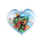 VENI MASEE® Lovely Christmas Heart-shaped Erasers, Christmas Gifts, Random Color
