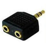 3.5mm Jack Splitter Adapter - Black
