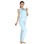 Womens Soft Fitness Yoga/Pilates/Dancing Sets--Bra Top/Vest/Pants, Three Pieces