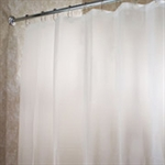 VENIMASEE PEVA Shower Curtain, Frosty  Clear, 178*180 CM