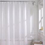 VENIMASEE PEVA Shower Curtain, White, 178*180 CM