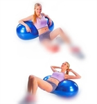 Yoga Ball, Fitness Ball For Fun Playing Kids, 90*45cm, From Hoter®